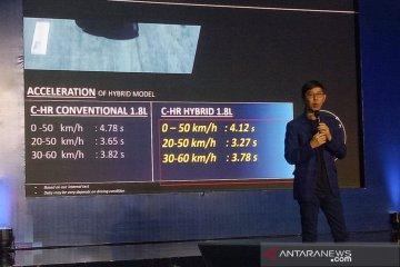 Toyota ungkap keunggulan mesin hybrid