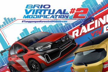 "Kontes modifikasi virtual Honda Brio usung tema ""Racing vs Elegan"""