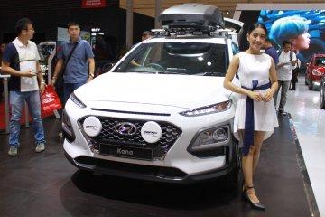 Hyundai pajang Kona modifikasi dan Santa Fe head unit baru