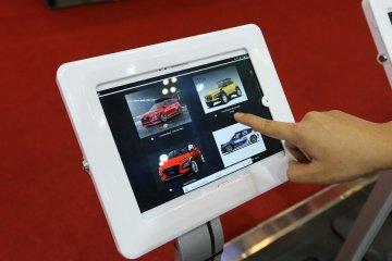 "Hyundai Kona Corner pajang hasil ""Digimods Challenge"""