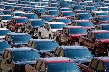 Berkat pickup, pendapatan GM naik meski volume penjualan turun