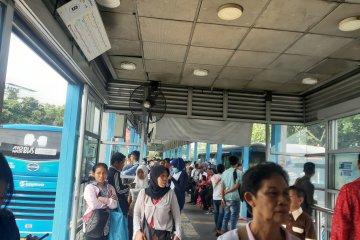 Pemadaman listrik tidak ganggu layanan TransJakarta