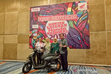 AHM kembali gelar kontes untuk jaga kualitas layanan konsumen