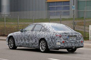 Mercedes-Benz S-Class 2020 tertangkap kamera saat diuji