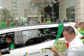 Menteri ESDM lepas kendaraan uji kelayakan penggunaan B30