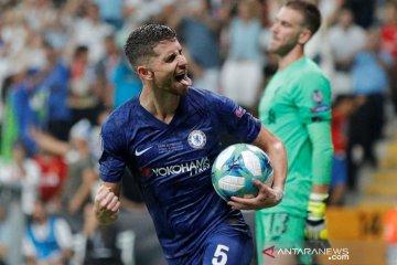 Juventus belum lakukan pendekatan ke Jorginho, kata Agen