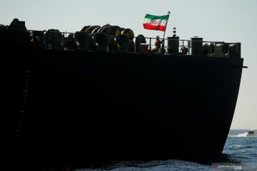 Kapal tanker pertama Iran tiba di perairan Venezuela