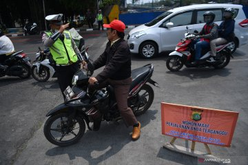 Polisi antisipasi plat palsu hindari perluasan ganjil genap