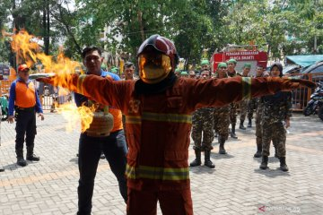 Diklatsus Banser Relawan Kebakaran