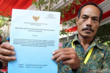 Presiden Joko Widodo Membagikan Sertifikat TORA di Pontianak