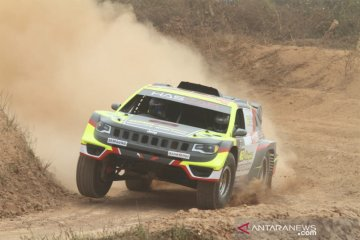 "Jeep Compass BMB-Hascar juara ""speed off road"" 2019"