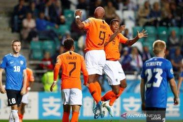Wijnaldum cetak gol lagi, Belanda menang 4-0 di Estonia
