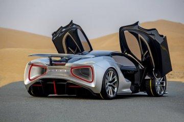 "Lotus Evija lanjutkan tur ""hypercar"" ke Uni Emirat Arab"