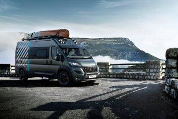 Mobil Konsep Peugeot Boxer 4x4 akan diperkenalkan di Prancis