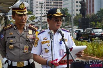 Dishub Jakarta berlakukan perluasan ganjil-genap 9 September 2019