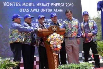 Puluhan mobil hemat energi beradu di Malang