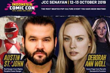 Pemeran Power Ranger Merah ke Indonesia Comic Con akhir pekan ini