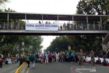 Aksi petani, polisi alihkan lalu lintas di sekitar Istana Presiden