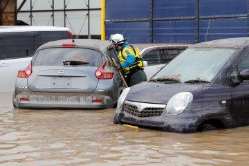 20 orang di Jepang tewas akibat bencana banjir dan longsor