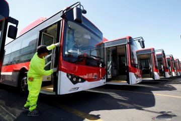 BYD umumkan pengiriman 50.000 bus listrik secara global