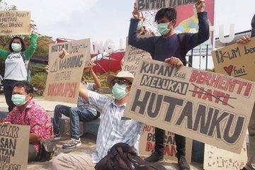 Aktivis tolak pelepasan hutan Bengkulu untuk korporasi