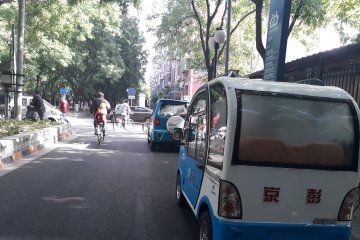 Beijing ganti 20.000 taksi lama dengan mobil listrik