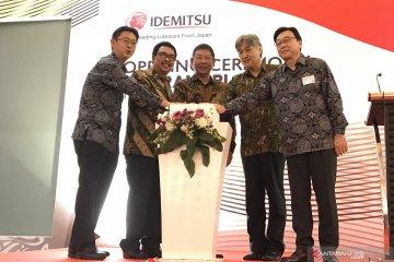 Pabrik pelumas kedua Idemitsu mulai beroperasi di Cikarang