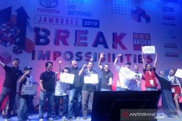 "Toyota jamboree 2019 usung tema ""Break The Impossibilities"""