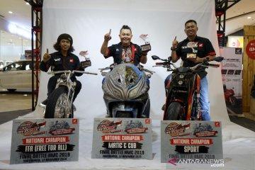 Tiga modifikator terbaik Honda Modif Contest 2019
