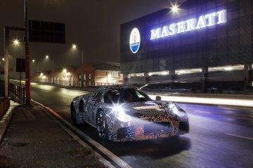 Maserati sedang mengerjakan mobil sport terbaru