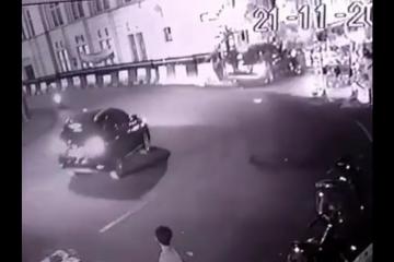 Pedagang asongan tewas dalam kecelakaan mobil di Kota Tua