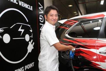 "Mitsubishi bangun fasilitas ""quick charger"" di Plaza Senayan"