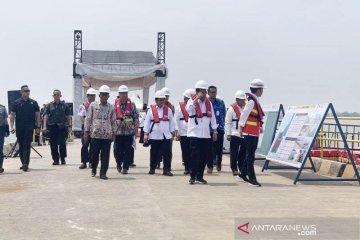 Presiden minta perhatikan dampak sosial ekonomi Pelabuhan Patimban bagi nelayan