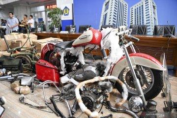 Kasus penyelundupan motor Harley dengan pesawat Garuda