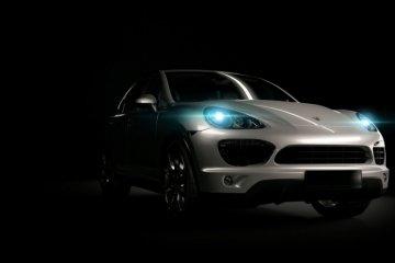 Porsche diam-diam uji crossover dengan empat motor listrik