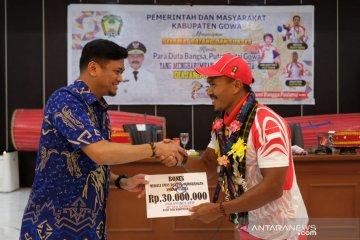 Pemkab Gowa Berikan Bonus Rp50 Juta Pada Atlet SEA Games