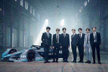 BTS jadi wajah baru kejuaraan Formula E 2020