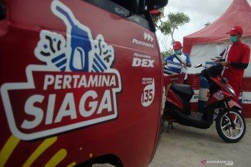 Pertamina siagakan mobil pembawa BBM kemasan di Tol Trans Jawa