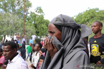 Minibus di Somalia tabrak bom, enam tewas