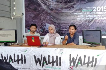 Walhi : 1,03 juta penduduk Sulsel terdampak bencana ekologis