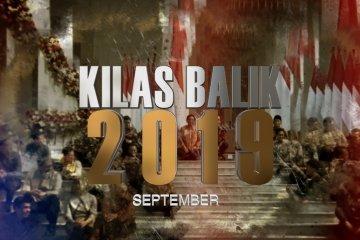 KILAS BALIK 2019 - SEPTEMBER: Dari OTT KPK hingga unjuk rasa tolak revisi UU KPK