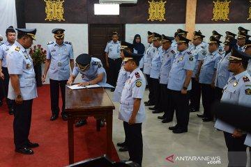 Deklarasi janji kinerja Kalapas baru Aceh