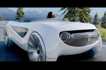 Tahun ini, mengendarai mobil Honda bisa sambil baca dan nonton TV