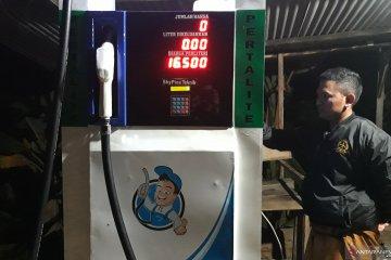 Harga jual BBM dan elpiji di Desa Lebaksitu naik