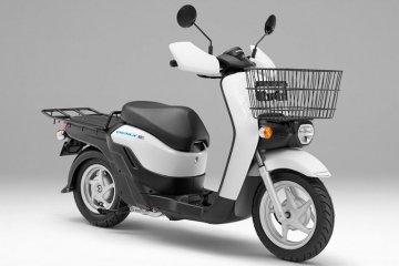 Honda pasarkan skuter listrik BENLY April