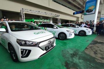 Grab targetkan 500 taksi berbasis listrik beroperasi tahun ini