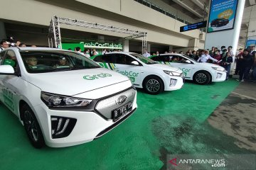 GrabCar Elektrik meluncur dorong ekosistem kendaraan listrik Indonesia