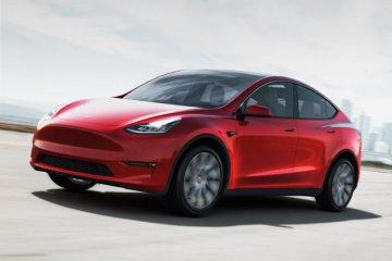 """Tesla percepat produksi """"crossover"""" Model Y"""