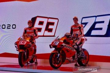 Repsol Honda resmi kenalkan duo Marquez sebagai pebalap di MotoGP 2020