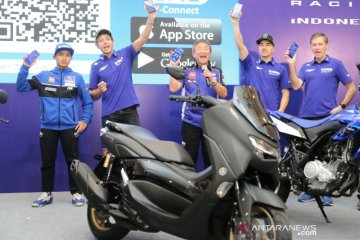 Bareng Rossi-Vinales, Yamaha umumkan harga All New Nmax Connected-ABS